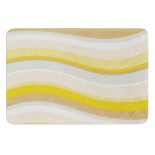 Desert Waves by Nika Martinez Bath Mat