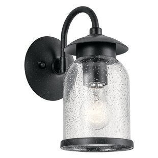 Price comparison Mahn Outdoor Wall Lantern By Gracie Oaks