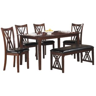 Kaylani 6 Piece Dining Set  sc 1 st  Wayfair & Seats 6 Kitchen u0026 Dining Room Sets Youu0027ll Love | Wayfair