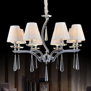 CWI Lighting 8-Light Shaded Chandelier