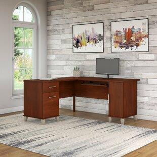 Find Chase L-Shape Executive desk by Red Barrel Studio