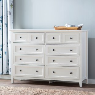 Zeppelin 8 Drawer Double Dresser by Mistana