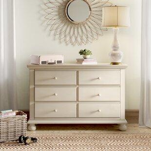 Birch Lane™ Heritage Lia 6 Drawer Double Dresser