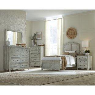 Jeffery Panel Configurable Bedroom Set