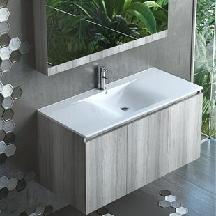 Kamrada 36 Wall Mount Single Bathroom Vanity Set by Orren Ellis