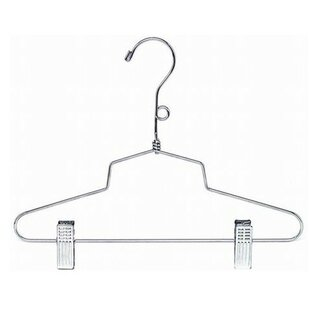Reviews Children's Metal Suit Nursery Hanger (Set of 100) ByOnly Hangers Inc.