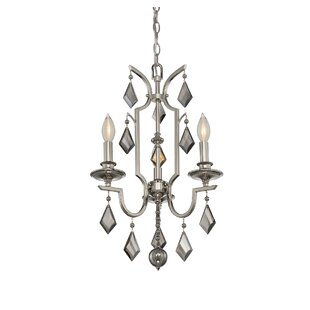 McConaughey 3-Light Candle Style Chandelier
