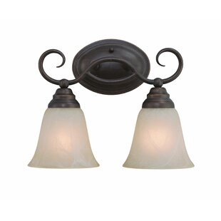 Affordable Ellis 2-Light Vanity Light By Charlton Home