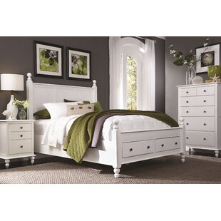 Quahog Panel Bed with Storage