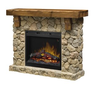Fieldstone Electric Fireplace by Dimplex