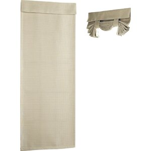 Chandeleur Solid Blackout Rod Pocket Single Curtain Panel