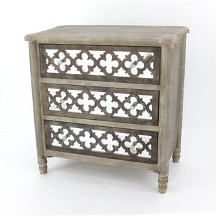 Strahan 3 Drawer Accent Chest