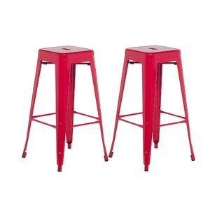 Commer 76cm Bar Stool (Set Of 2) By Williston Forge