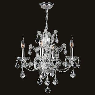 Willa Arlo Interiors Zhora 4-Light Candle..