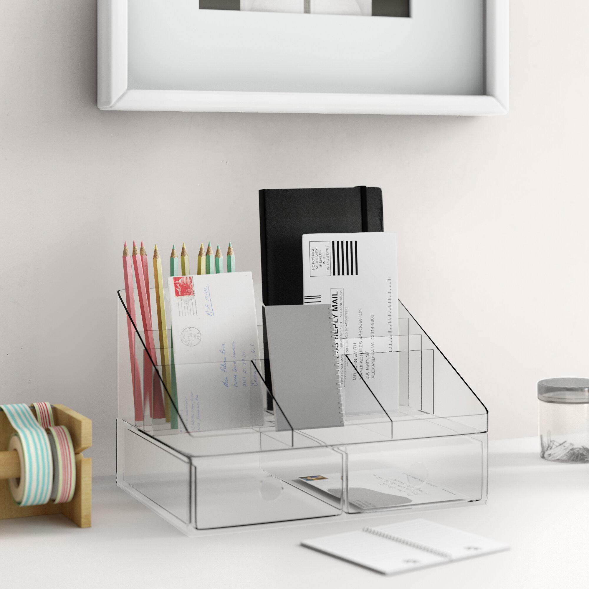 Clear Desktop Organization You Ll Love In 2021 Wayfair