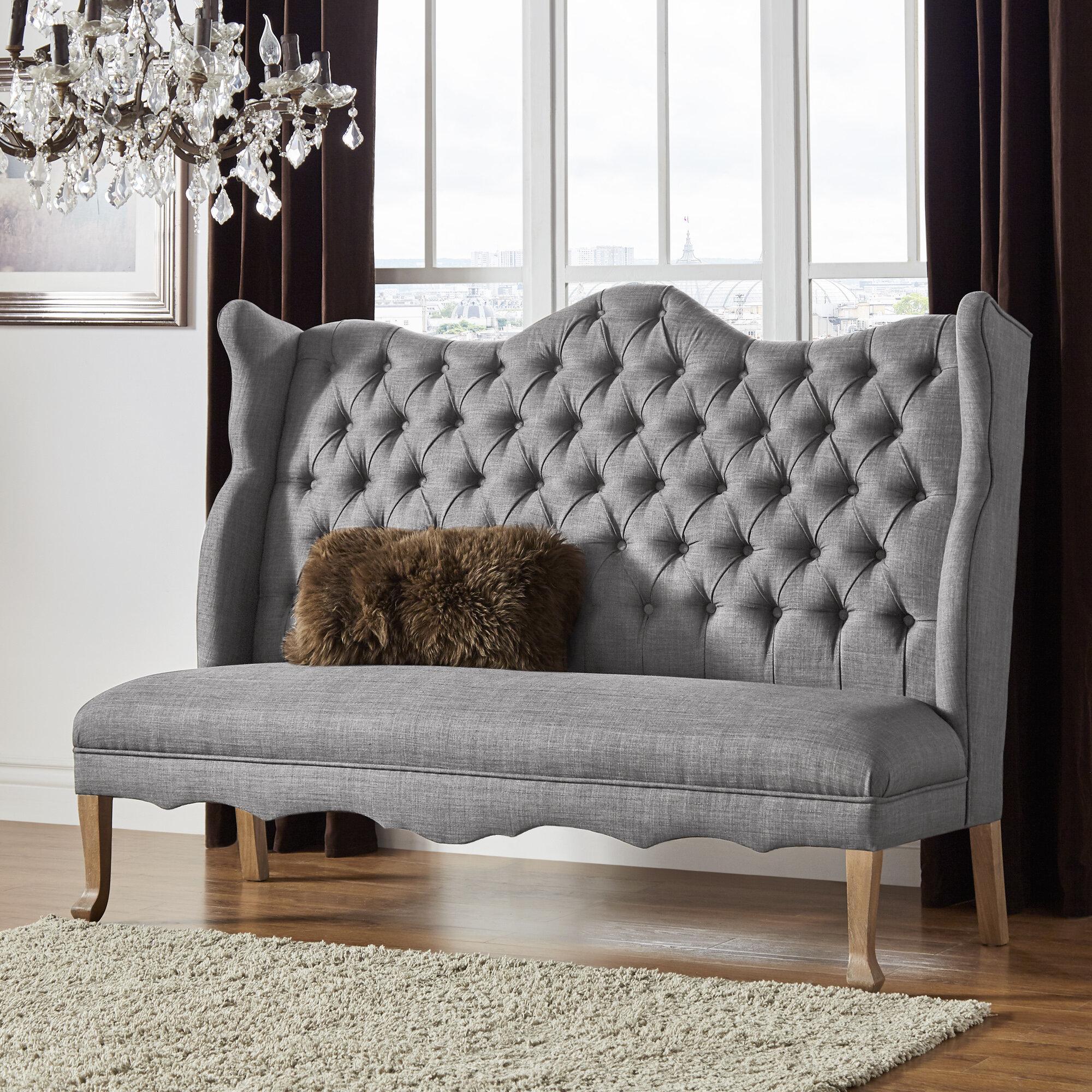 Janell Tufted Upholstered Bedroom Bench