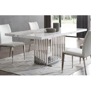 Leiston Dining Table by Everly Quinn