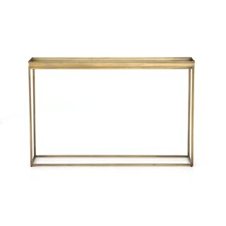 "Nalani 47.75"" Console Table by Mercer41 SKU:DE553157 Reviews"