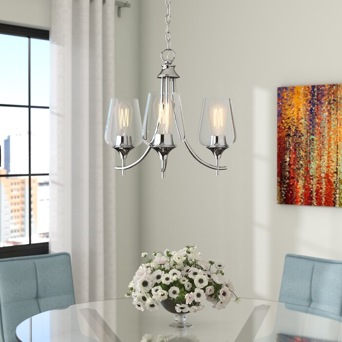 Hickerson 3 - Light Shaded Classic / Traditional Chandelier