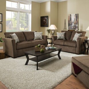 Chestnut Sleeper Configurable Living Room Set by Winston Porter