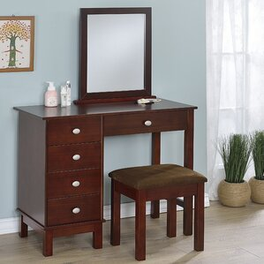 Gannaway Vanity Set With Mirror