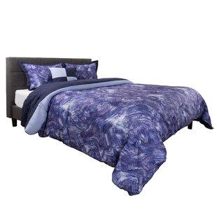 Benfield Whimsical Swirl Comforter Set by Ebern Designs
