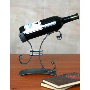 1 Bottle Tabletop Wine Rack by Novica