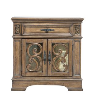 Soham 1 Drawer Nightstand