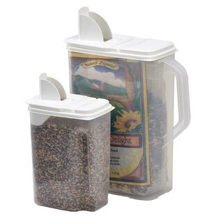 Bird Seed 2 Container Food Storage Set  sc 1 st  Wayfair & Bird Seed Storage Container | Wayfair
