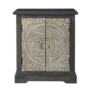 Elisamarie 2 Door Accent Cabinet by Bungalow Rose