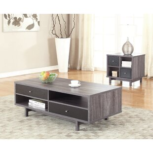 Fink 2 Piece Coffee Table Set by George Oliver New Design