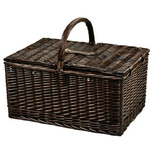Picnic Basket with Coffee Set