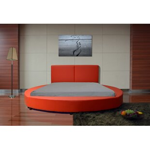 Lura Queen Upholstered Platform Bed