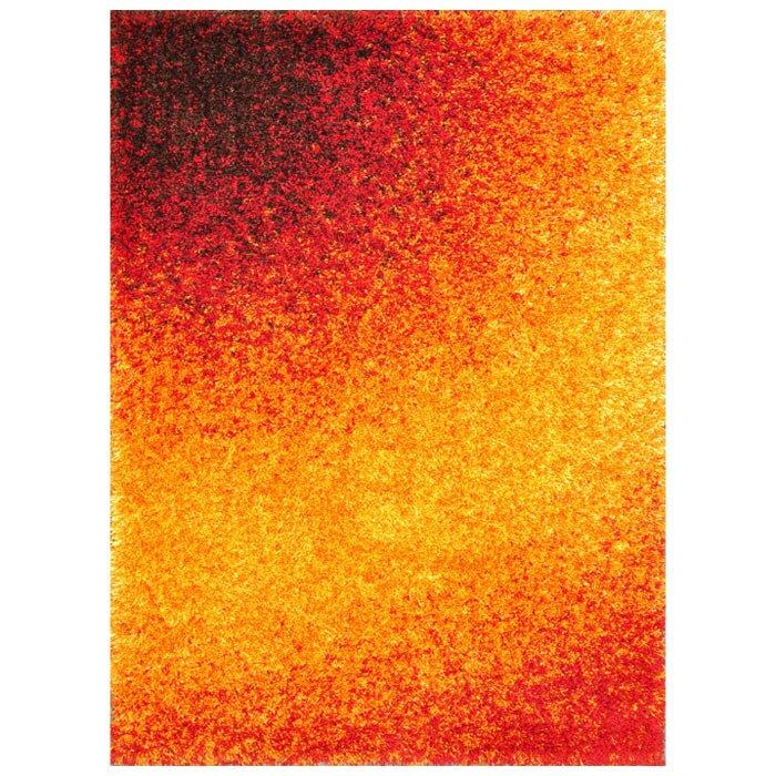 Barcelona Red/Gold Area Rug