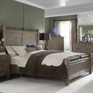 Holden Oak Platform Bed by Loon Peak