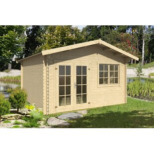 Wiens 14 X 12 Ft. Tongue & Groove Summer House By Sol 72 Outdoor