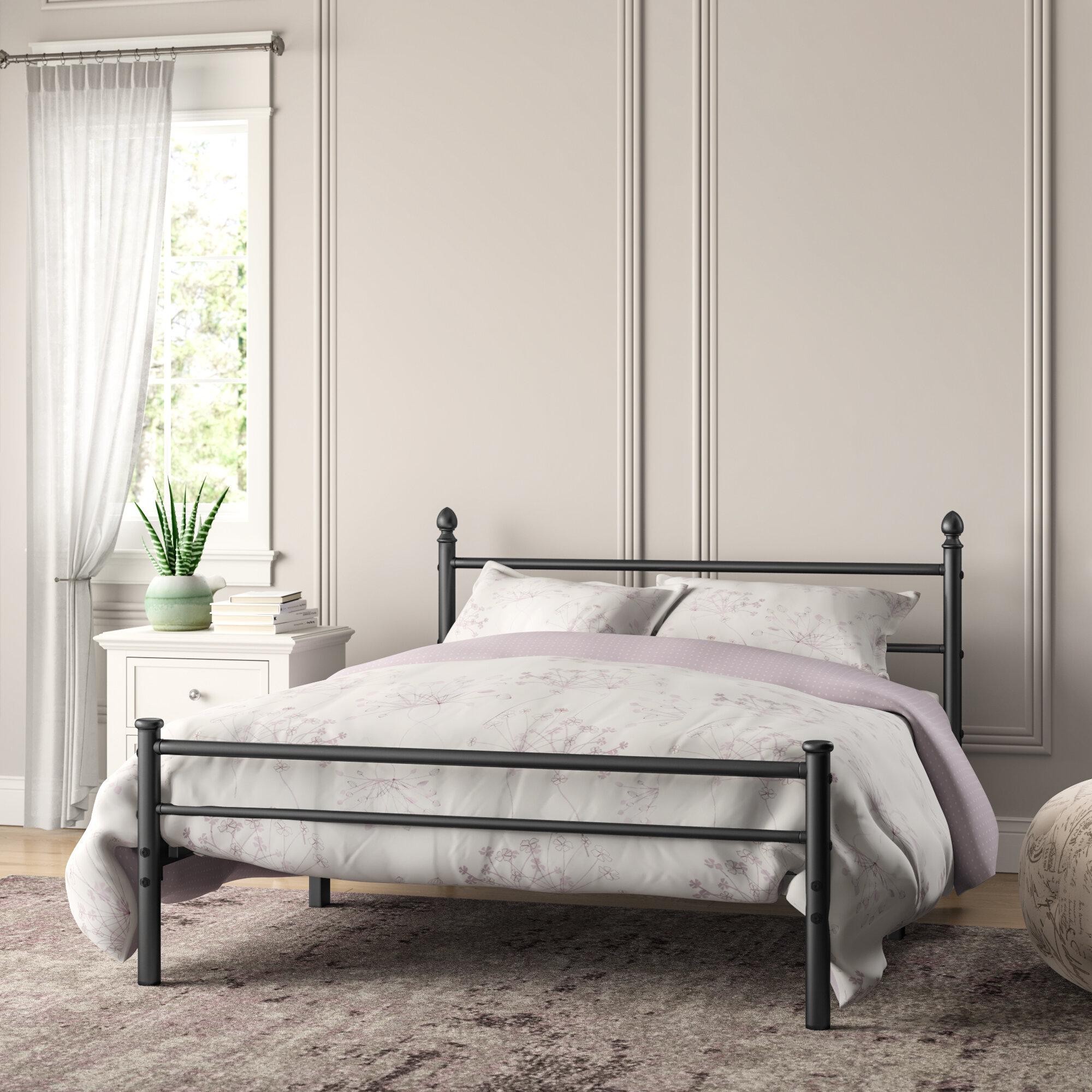 Red Barrel Studio Siobhan Full Platform Bed U0026 Reviews   Wayfair