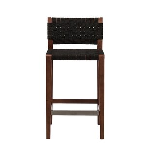 Alleyton Woven Style 26 Bar Stool by Bloomsbury Market Comparison