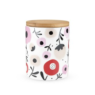 Posy 0.56 qt. Kitchen Canister