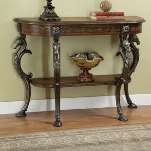 Berkhamstead Wild Horses Console Table by Astoria Grand Great Reviews