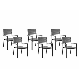 Emme Stacking Garden Chair (Set Of 6) By Sol 72 Outdoor