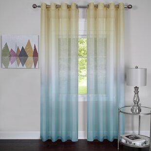 Ocean Blue Curtains