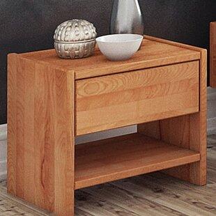 Vigo 1 Drawer Bedside Table By Castleton Home