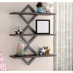 La Crosse Diamonds 3 Level Wall Shelf