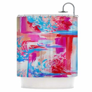 On The Move Single Shower Curtain