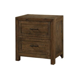 Buy clear Craigsville 2 Drawer Nightstand by Three Posts