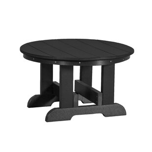 Patricia Plastic Chat Table by Rosecliff Heights Spacial Price