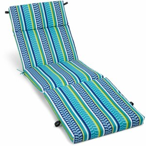 Pike Outdoor Chaise Lounge Cushion