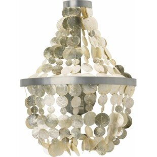 Kouboo Manor Capiz Seashell 1-Light Novelty Pendant