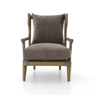 Atchley Oak  Armchair By Foundry Select